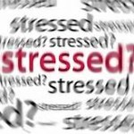 stress - stressed in words