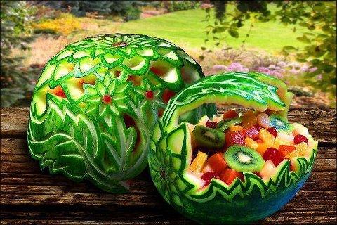 drdeclutterblog com blog archive carved watermelon fruit basket